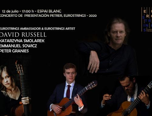 EUROSTRINGS ARTIST, DAVID RUSSELL